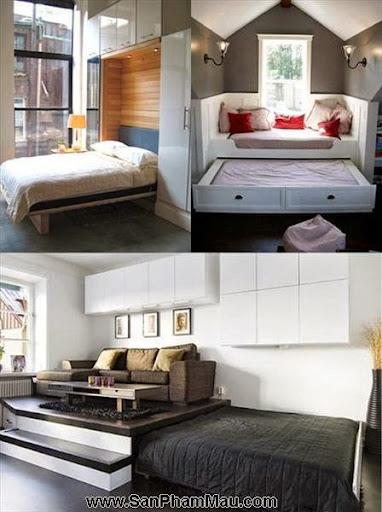 5 cách khắc phục phòng ngủ chật hẹp-1
