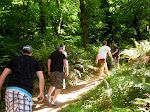 So the 4 of us follow Al down a trail...bad idea?