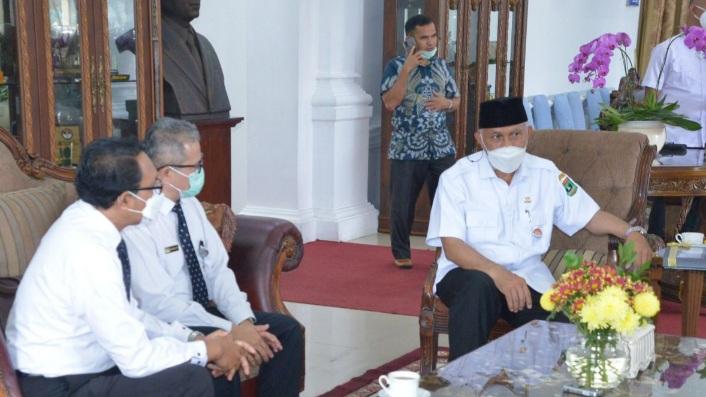 Gubernur Minta BPKP Dorong Sinkronisasi Pembangunan Pertanian di Sumbar
