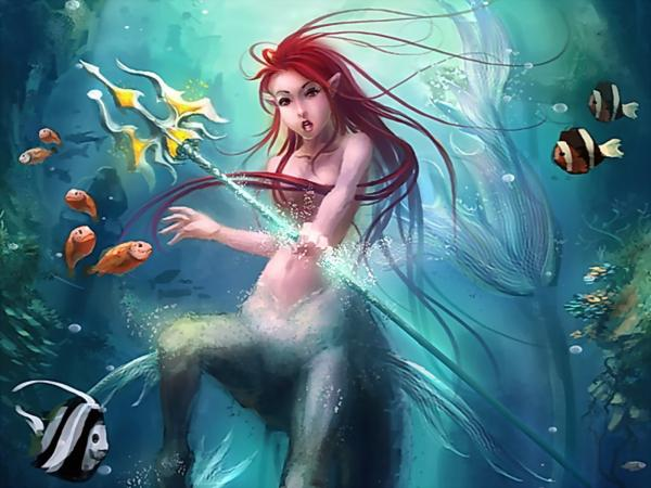 Mermaid Warrior, Undines