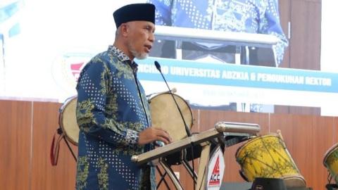 "Gubernur: Universitas Adzkia Perkuat SDM Generasi Muda Gapai ""Indonesia Emas"""