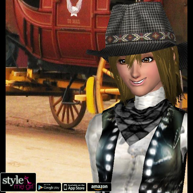 Style Me Girl Level 37 - Wild West - Meena