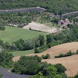 Le vallon des Fouix depuis les Hautes-Courennes (550 m), Saint-Martin-de-Castillon (Vaucluse), 20 juin 2015. Photo : J.-M. Gayman