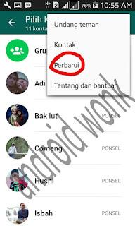kontak whats app