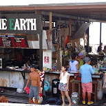 play the earth? enoshima beach in japan in Fujisawa, Kanagawa, Japan