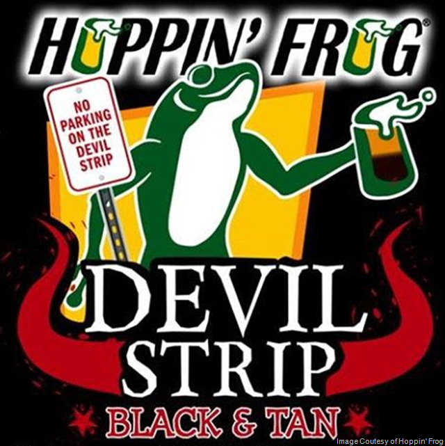 Hoppin' Frog Devil Strip Black & Tan Bottles Coming 3/22