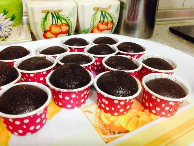 cup cake coklat moist blog cikmatahariku
