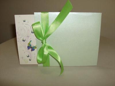 Invitación para quinceañera verde manzana