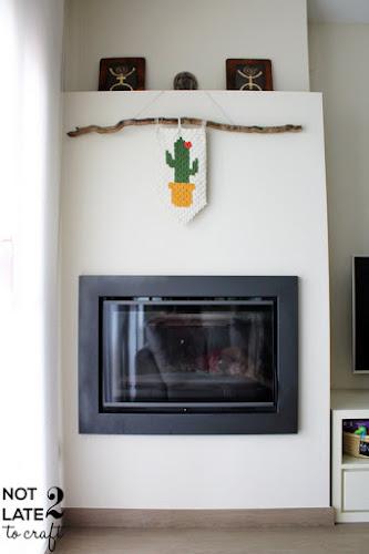 Not 2 late to craft: Banderola cactus de ganxet C2C patró gratis / C2C crochet cactus banner free pattern