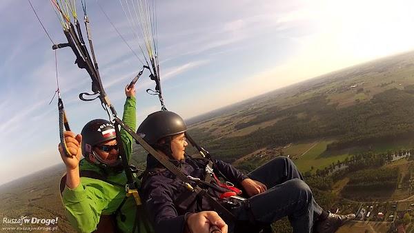 Na wysokości 400 metrów pozostało podziwianie widoków