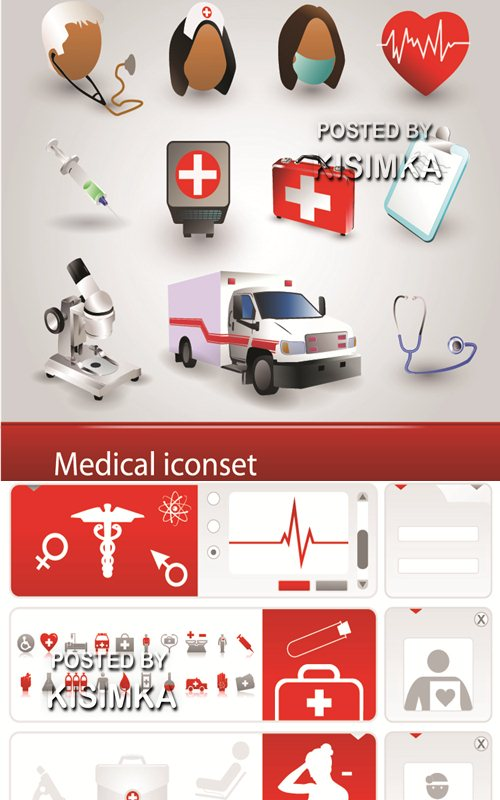 Stock: Medical iconset