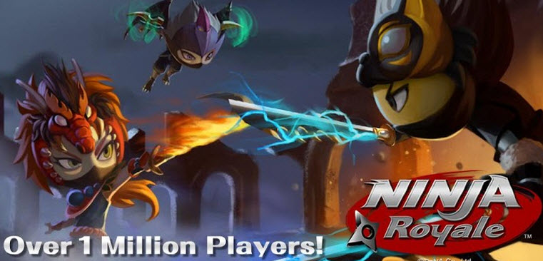 Ninja Royale| เกมส์ศึกอภินิหารนินจาถล่มโลก | โหลดเกมส์แอนดรอยด์ฟรี