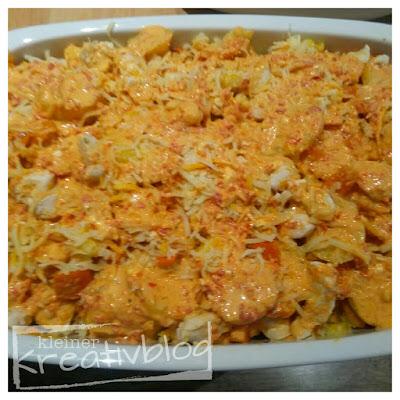 kleiner-kreativblog: Kürbis-Kartoffelauflauf