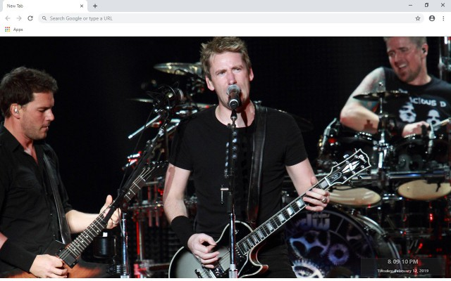 Nickelback New Tab & Wallpapers Collection