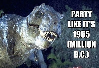 Party like it's 1965 (million B.C.)