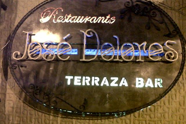 Restaurante José Dolores Terraza Bar es Partner de la Alianza Tarjeta al 10% Efectiva