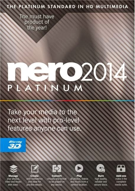 Download Nero Platinum 2014 - 15.0.02200