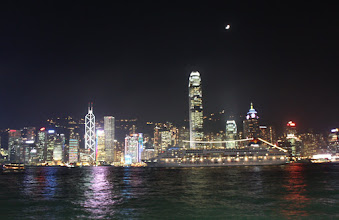 Photo: Day 195 -  Lights on HK Island #3