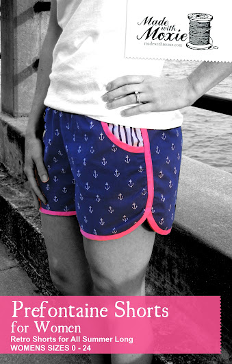 The best shorts sewing pattern for women. Even if you hate to wear shorts, you will love these shorts.