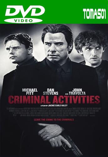 Criminal Activities (2015) DVDRip