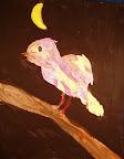 Collage Bird by Elizabeth