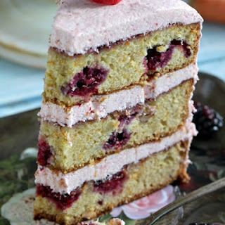 Hazelnut Berry Carrot Cake.