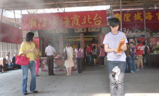 TAIWAN. Taipei ballade dans un vieux quartier - P1020577.JPG