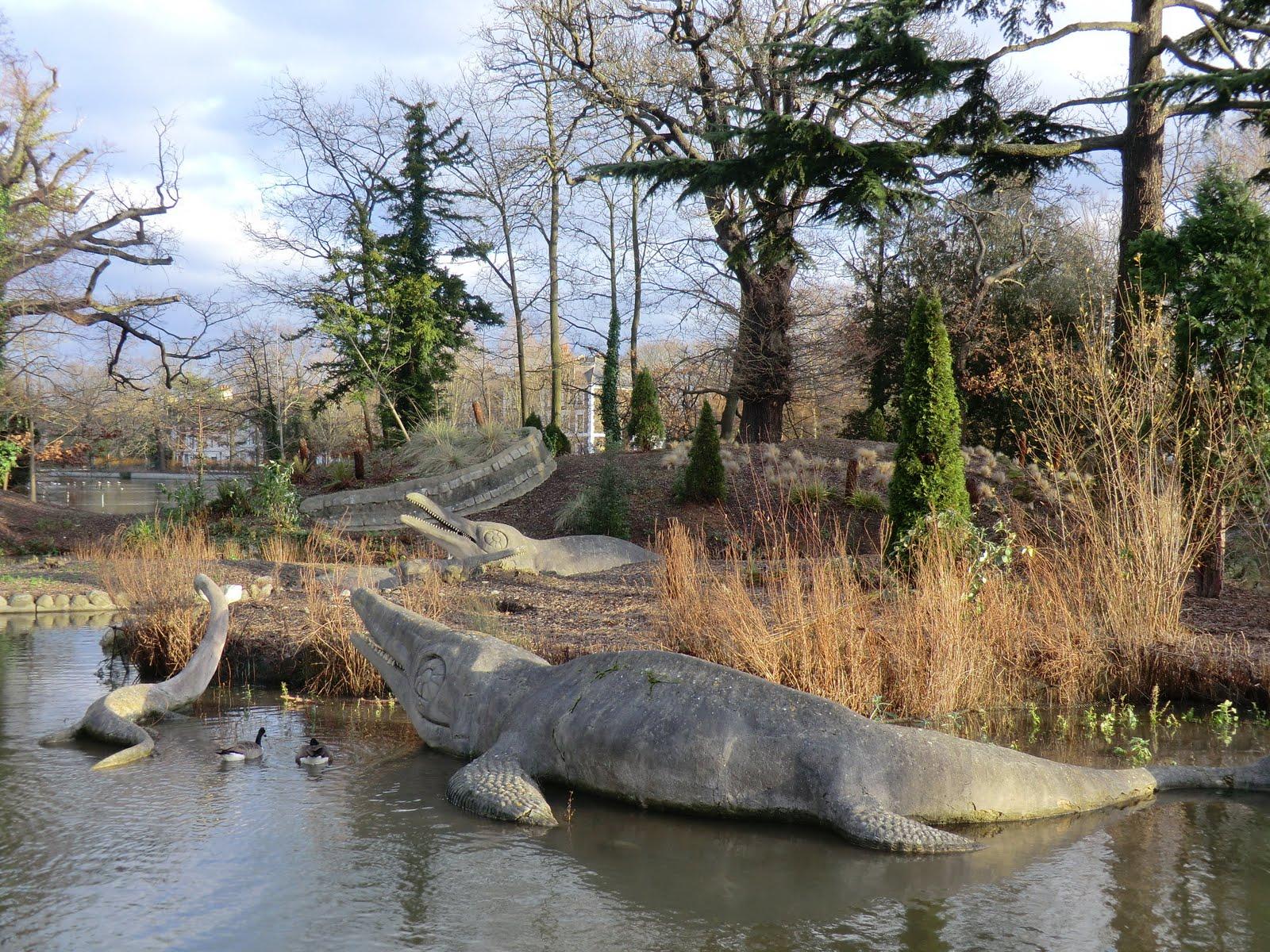 CIMG1501 Ichthyosaurus, Crystal Palace Park