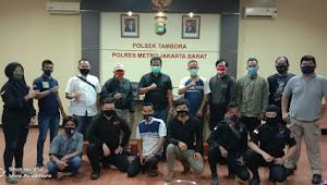 Pesan Kapolsek Tambora buat Relawan Patroli Tambora