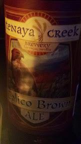Tenaya Creek Brewery Calico Brown Ale