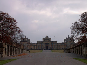 Blenheim Palace and the Great Avenue