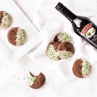 Boozy Baileys Cookies.
