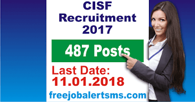 CISF Constable Fire Recruitment 2017