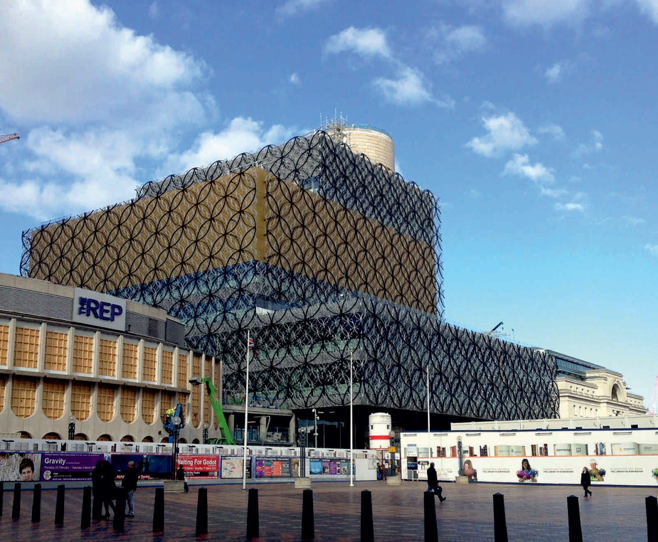 Birmingham, West Midlands, Regno Unito: Library of Birmingham by Mecanoo