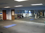 Weight room / stretching area / fitness classroom