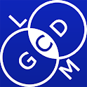 GCD and LCM calculator icon