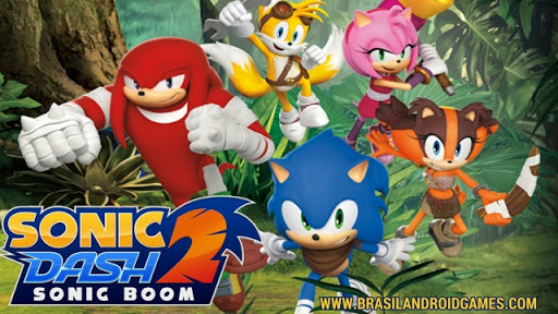 Download Sonic Dash 2: Sonic Boom v1.7.6 APK MOD - Jogos Android