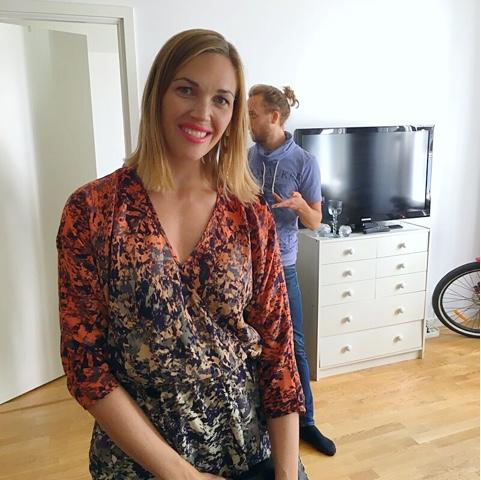 beautiful Swedish woman sister