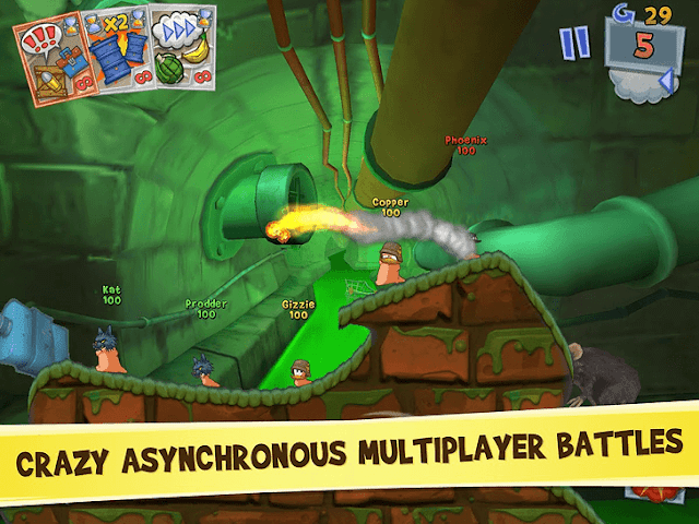 Worms 3 App voor Android, iPhone en iPad