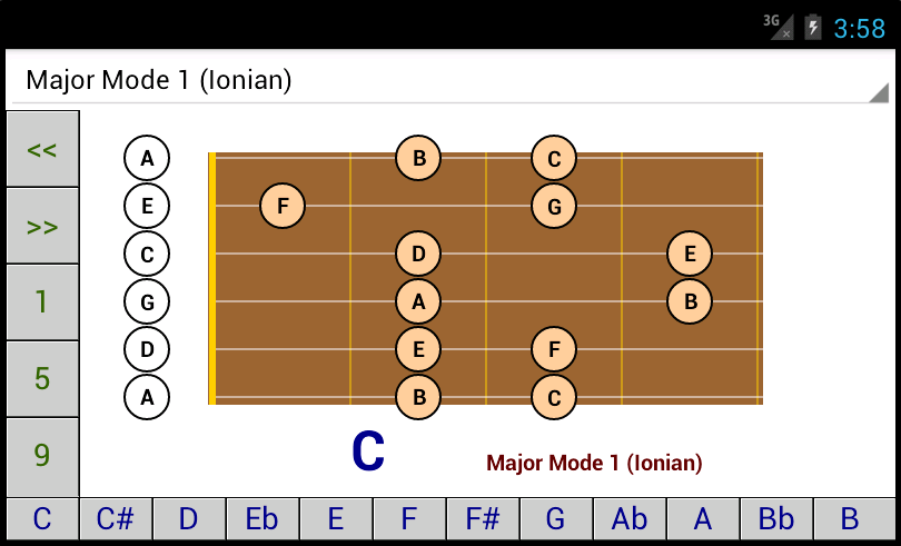 DG Guitalele / Requinto Scales - DG Android Applications