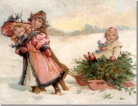 imágenes vintage navidad (5)