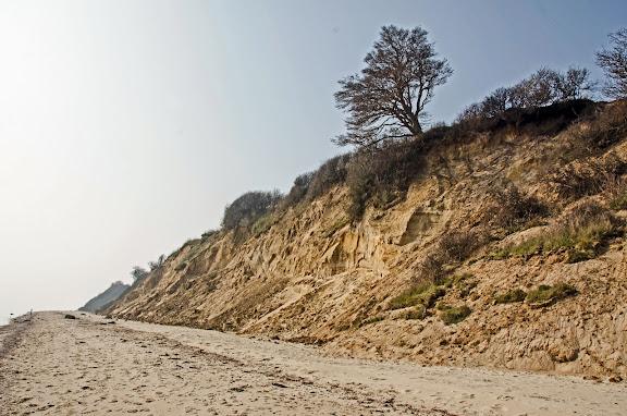 Klinten ved Halk strand.