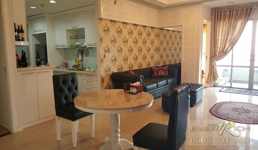 bán căn hộ everich 1 quận 11 - Phòng khách căn hộ 115m2
