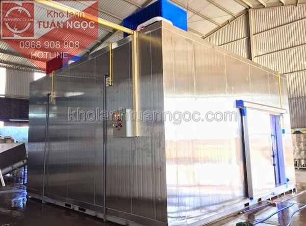 Kho lạnh Inox tại Lào
