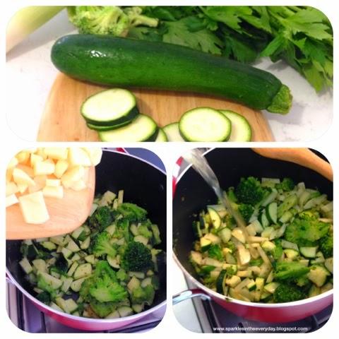 Broccoli and Zucchini Soup