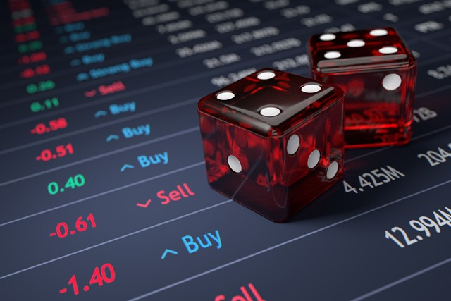 Stock Market Dice Roll