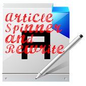Article Spinner and Rewrite