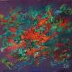 Botanisches, 2003. �l auf Leinwand, 47 x 52 cm. Euro 2.800,-