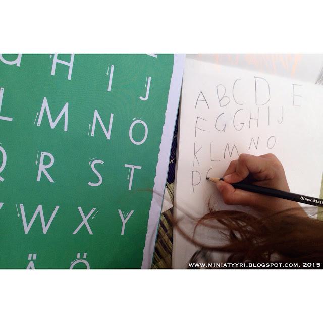 Kirjoitusharjoitus - Writing practise