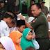 Dua Puluh Lima Yatim Piatu Mendapat Santunan Dalam Silaturahmi dan Tasyakuran HUT TNI Ke-72